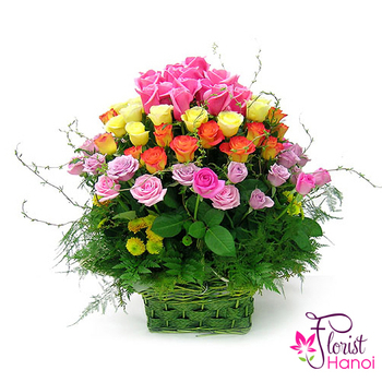 Free delivery flowers to Vietnam