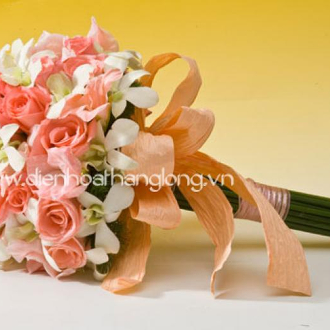 WEDDING BOUQUETS PINK AND WHITE