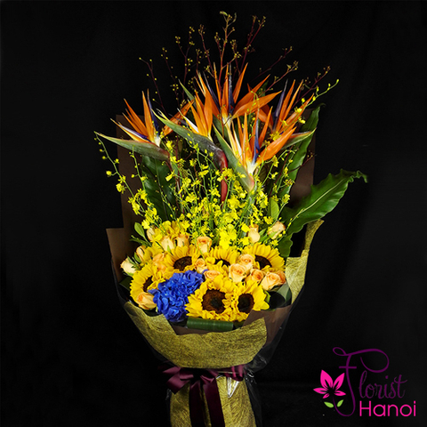 Flowers bouquet for birthday Mommy