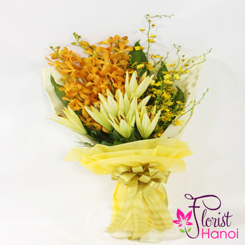 Orchid flower bouquets delivery same day