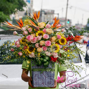Send flowers to Hanoi online