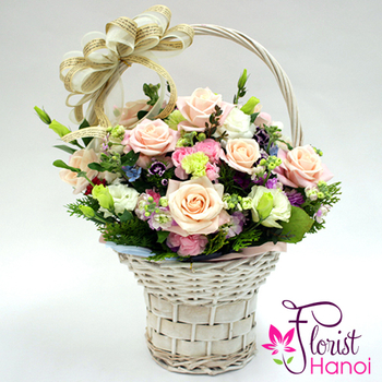 Love flowers free delivery in Vietnam
