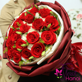 Love flowers for girlfriend in Hanoi