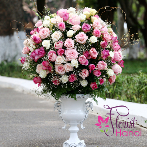 Hanoi luxurious vip flowers delivery same day