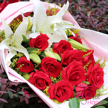 Hanoi birthday flowers for your love free delivery