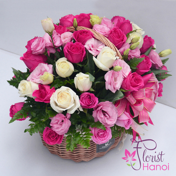Buy birthday flowers online in hanoi capital