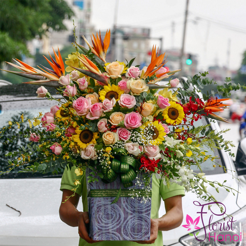 Birthday flowers gifts Hanoi