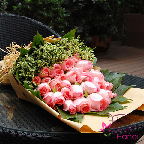 Birthday flowers for girl in Hanoi city