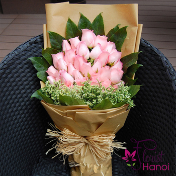 Birthday flowers for girl in Hanoi city free delivery
