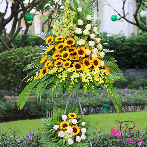 Send opening congratulations flowers to Hanoi