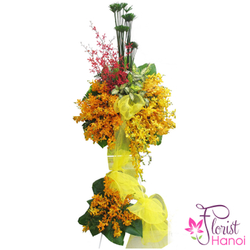 Hanoi congratulation flowers same day delivery