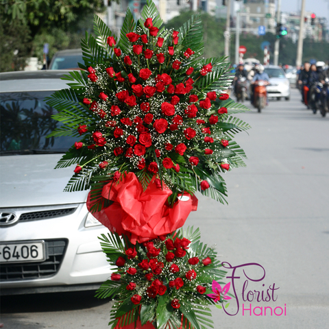 Send congratulations flowers to Hanoi online