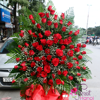 Send congratulations flowers to Hanoi online free ship