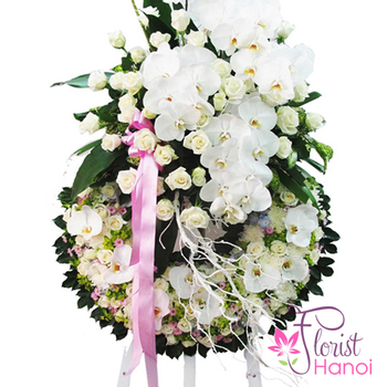 Hanoi sympathy flower delivery same day