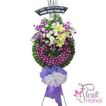 Hanoi sympathy flowers free delivery