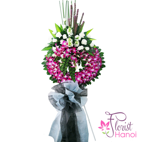 Hanoi sympathy flowers next day delivery