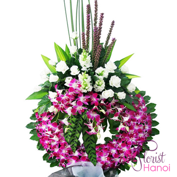 Hanoi sympathy flowers next day delivery online services