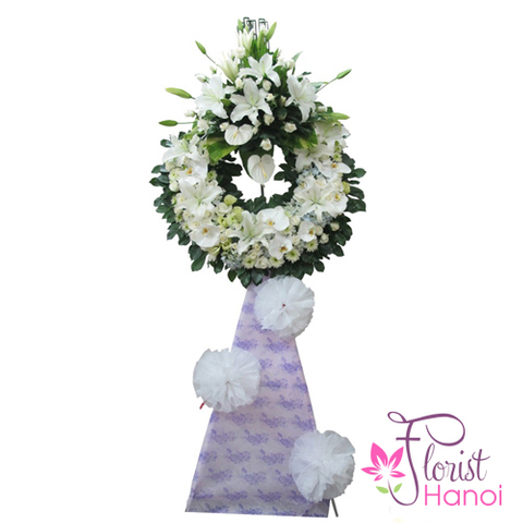Send sympathy flowers online to Hanoi