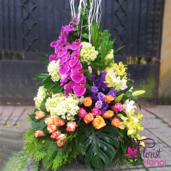 Flowers shop delivery free shipping Hanoi city