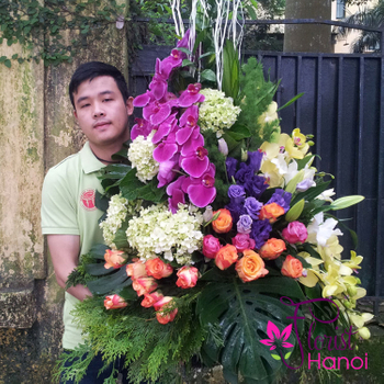 Flowers shop delivery free shipping in vietnam