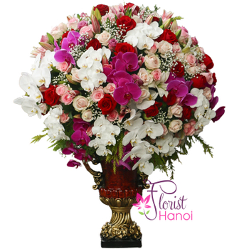 Hanoi flower shop same day delivery