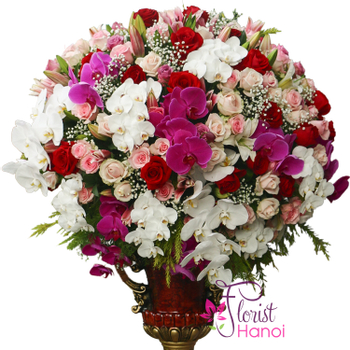 Hanoi flower shop same day delivery free