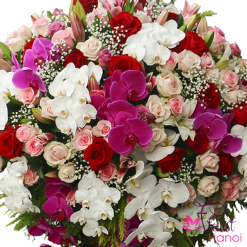 Hanoi flower shop same day delivery order online