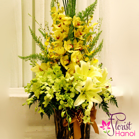 Vip flowers free delivery in Hanoi city
