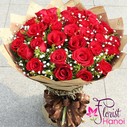Love flowers for sending to Hanoi Vietnam