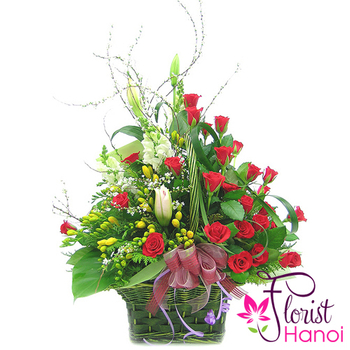 Hanoi florist delivery free shipping today