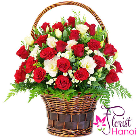 Love flowers delivery Vietnam florist
