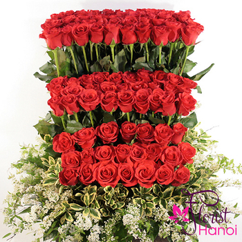 send love flowers to Hanoi same day delivery