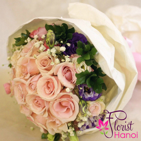 Loving flowers delivery in florist Hanoi