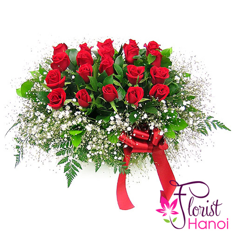 Send love flowers with messages in Vietnam