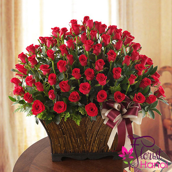 Send 99 roses to Hanoi