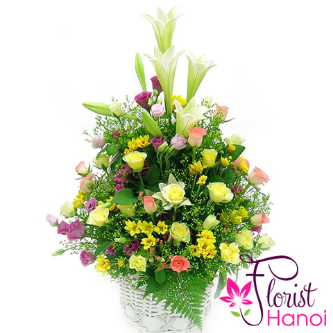 Send flowers wonderful day to Hanoi
