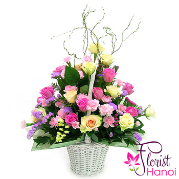 Lovely flowers arrangement