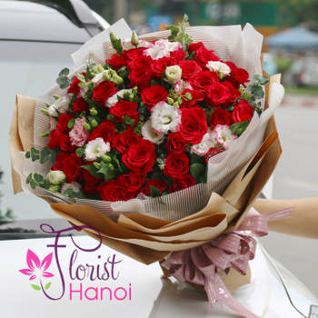 Beautiful love flower for girlfriend Hanoi