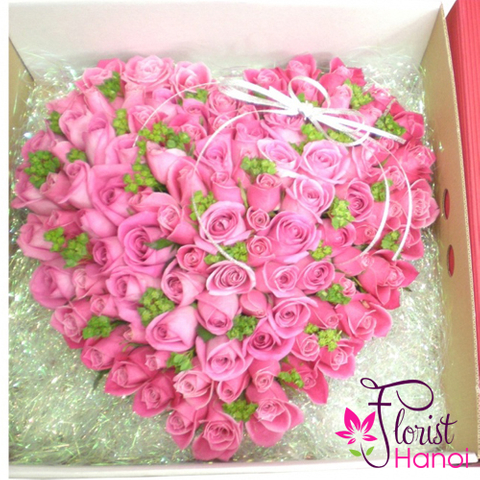 Pink rose box in hanoi