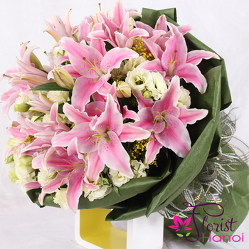 Best flower shop online in Hanoi