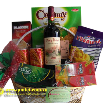 Hamper Congratulations in Hanoi