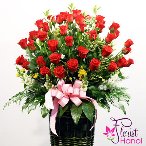Pure happiness arrangement florist Hanoi