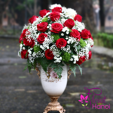 Flower delivery to Hanoi Vietnam