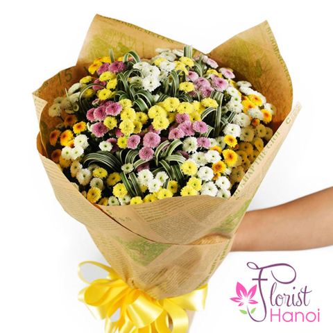 Send birthday flowers online to Hanoi