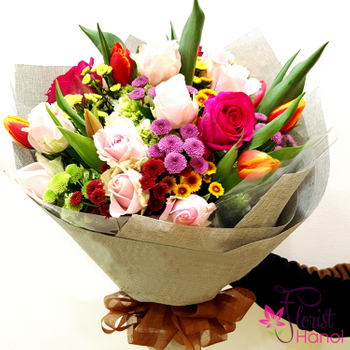 Hanoi birthday flowers meaning
