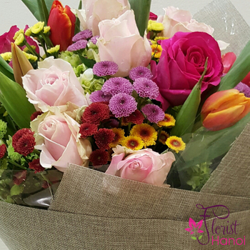 Hanoi birthday flowers meaning free delivery