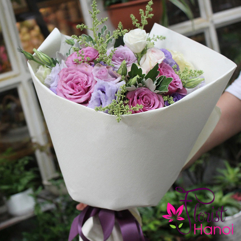 Romantic flowers for girlfriend
