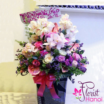 Order vip flowers next day delivery in Hanoi