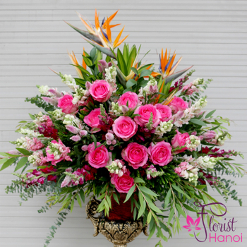 Buy VIP flowers at Hanoi florist free ship
