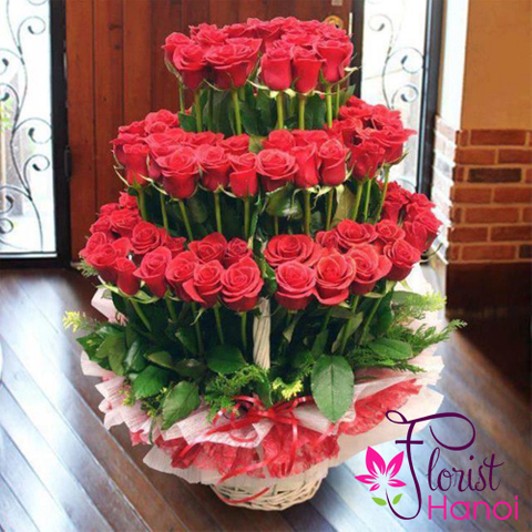 Vip flowers for your love in Hanoi